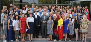 """Vilkaviškio vyskupijos tikybos mokytojų ir katechetų Rudens konferencija """"Popiežiaus belaukiant"""" vyko ASU"""