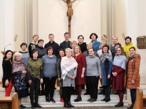 Vilkaviškio vyskupijos tikybos mokytojų rekolekcijos Trinapolyje