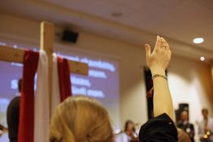 """Vilkaviškio vyskupijos religinės literatūros skaitovų konkursas """"Šlovink Viešpatį, mano siela"""" (Ps 104,1)"""