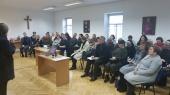 """Biblijos pažinimo seminaras """"Biblinė etika su Dekalogu"""" Vilkaviškio vyskupijos tikybos mokytojams"""