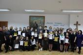 """Religinės literatūros skaitovų konkurso """"ŠLOVINK VIEŠPATĮ, MANO SIELA"""" (Ps 104, 1) finalas"""