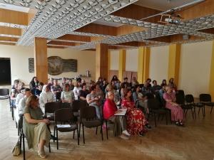 """Edukacinė stovykla """"Tiktai jūs ištverkite…"""" (Kol 1, 23) Vilkaviškio vyskupijos tikybos mokytojams"""