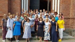 Vilkaviškio vyskupijos tikybos mokytojų edukacinės stovyklos atgarsiai