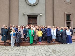 Vilkaviškio vyskupijos tikybos mokytojai ir katechetai naujus mokslo metus pradėjo Šakiuose