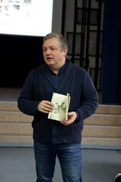 Ričardas Pagojus susitiko su mokiniais Šv. Mato ir Marijonų gimnazijose
